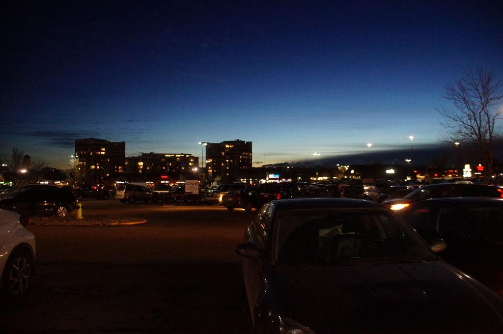 卡加利的夜景,要回家囉