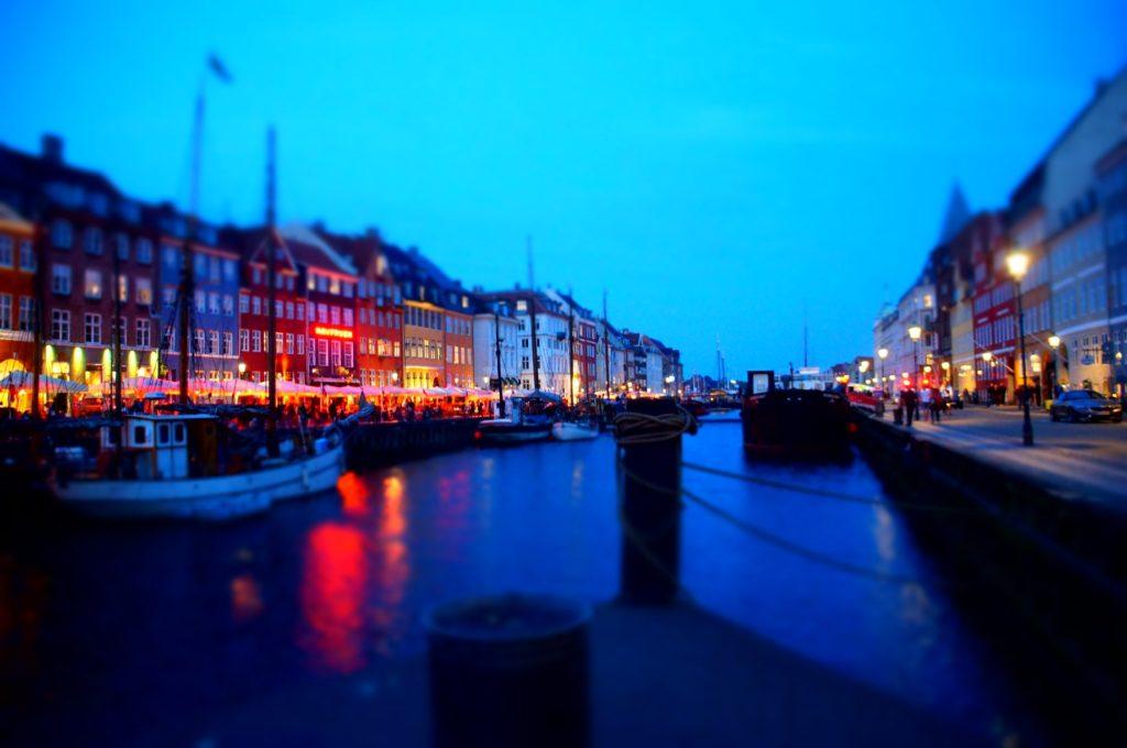丹麥-哥本哈根,新港。