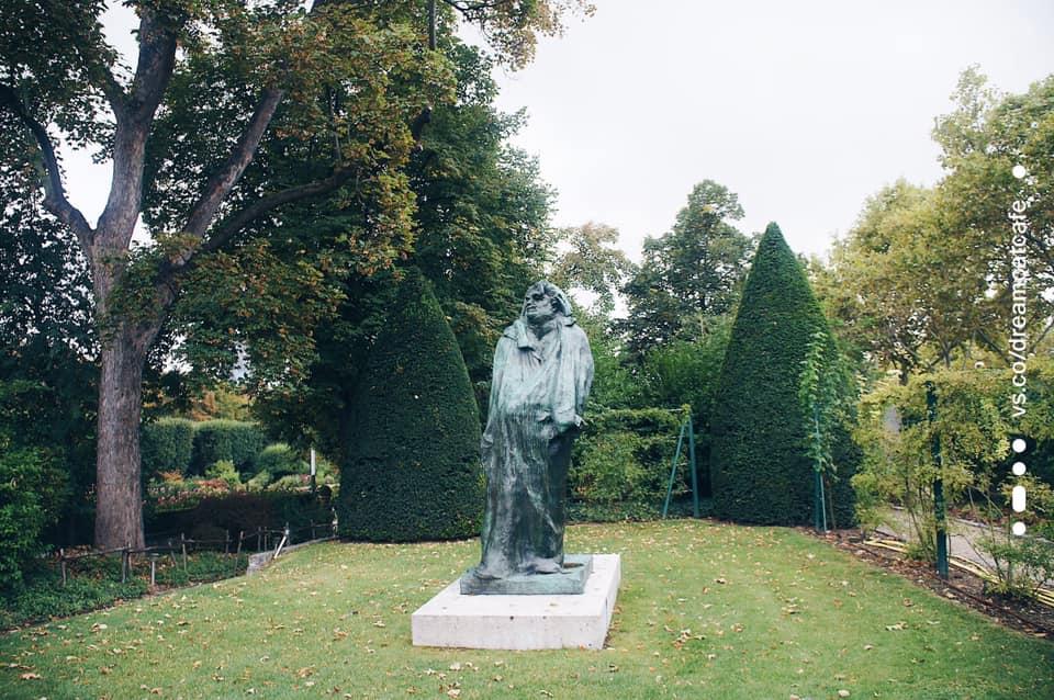 羅丹美術館花園 巴爾札克