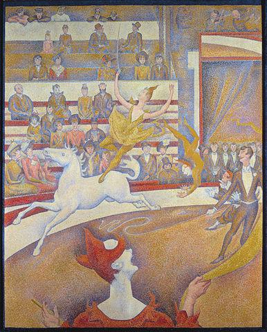 奧塞美術館必看,喬治秀拉,馬戲團。