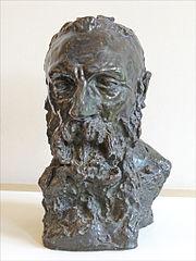 卡蜜兒的雕塑作品,羅丹的肖像。