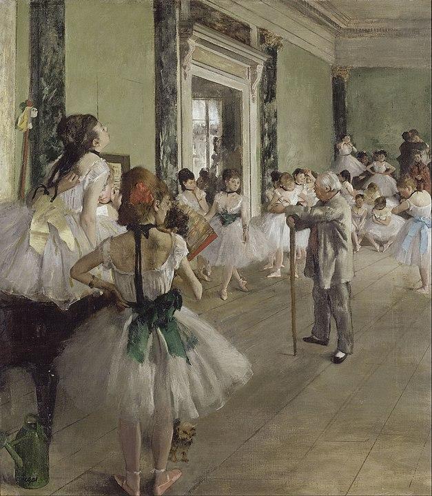 奧塞美術館必看The Ballet Class (Degas)竇加