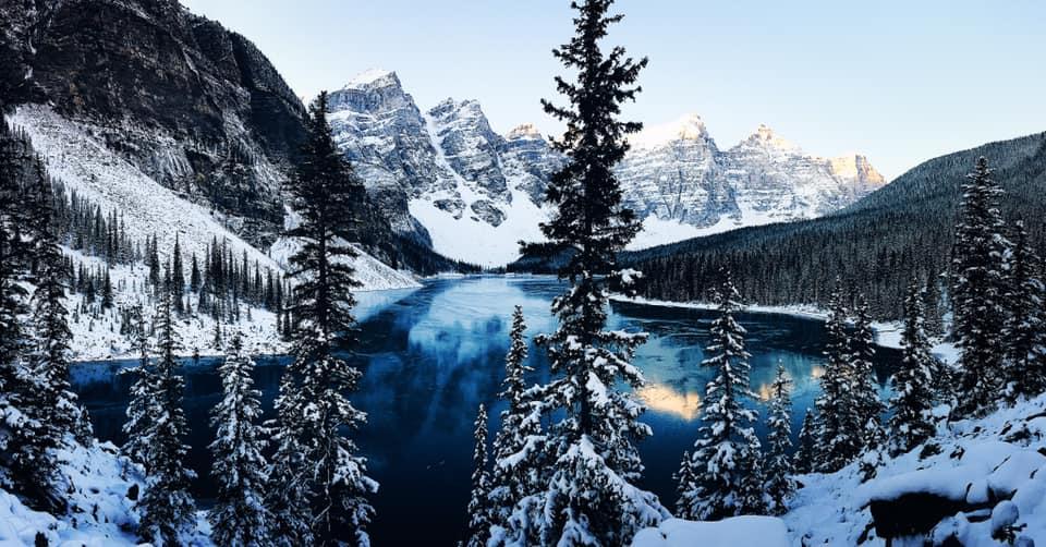 加拿大洛磯山脈之旅,都是依靠離線地圖,不用網路或網卡。