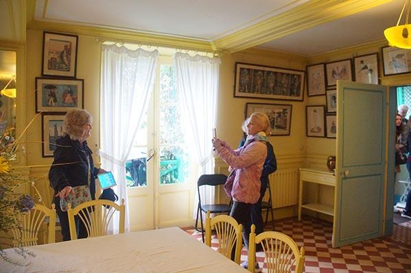 莫內花園 黃色飯廳