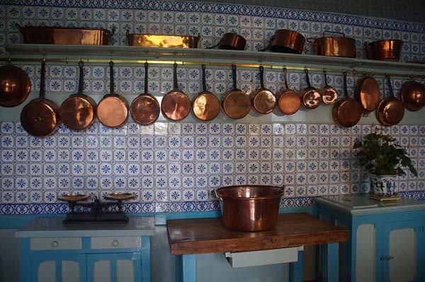 莫內花園 藍色廚房