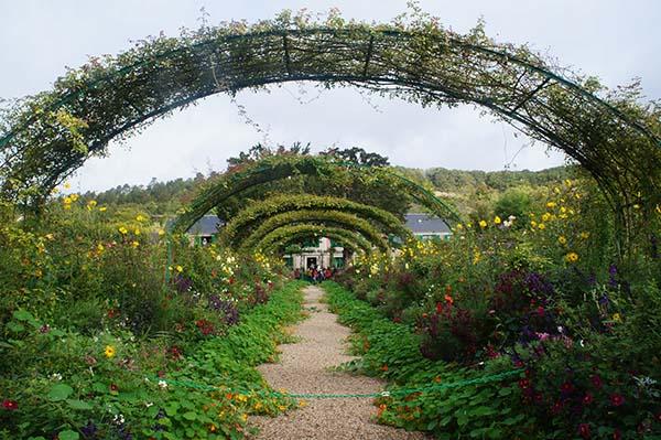 莫內花園 拍照點