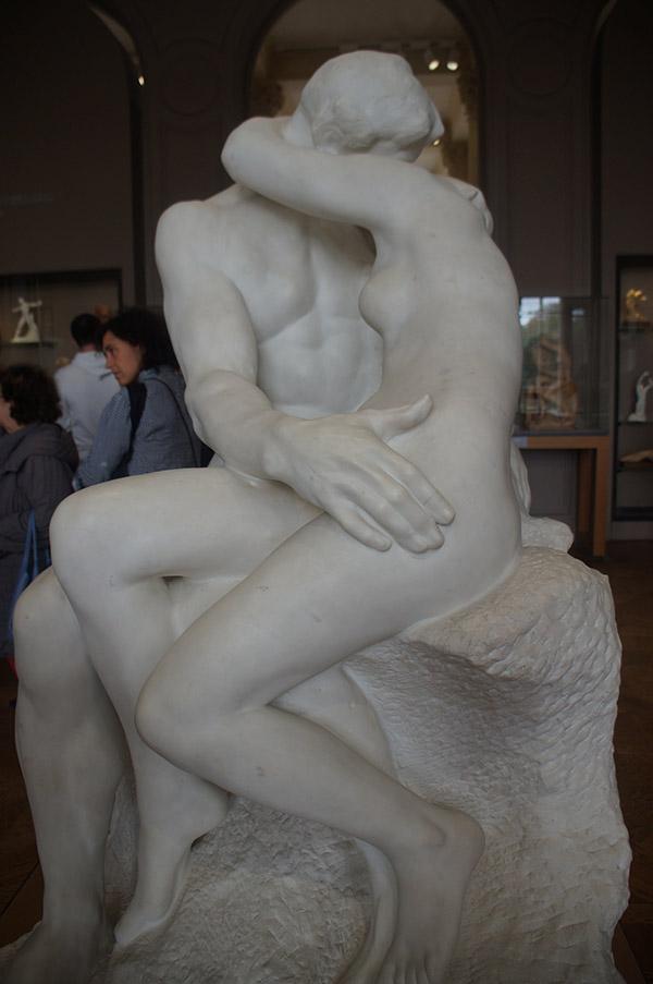羅丹美術館 吻