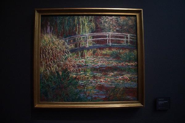 莫內的日本橋作品