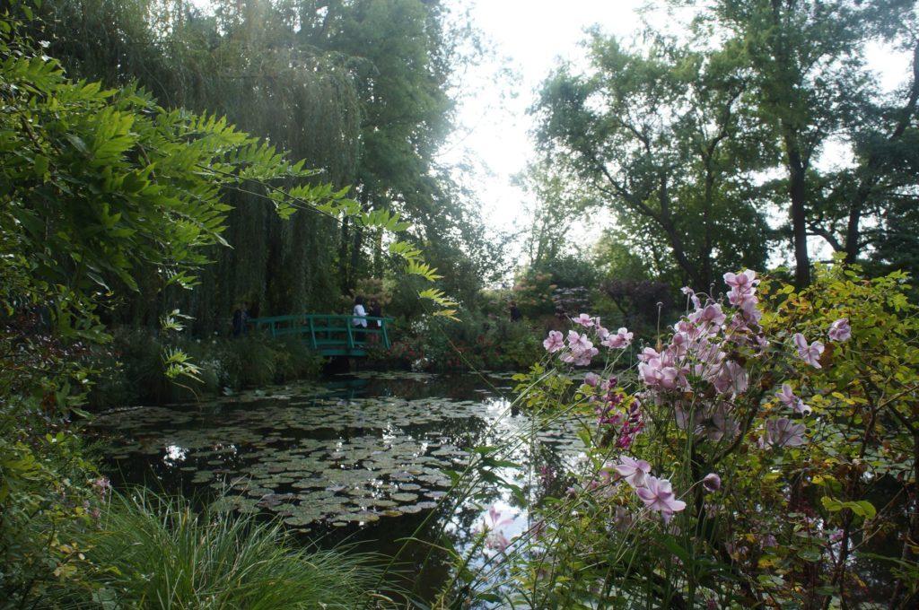 莫內花園 蓮花池畔 日本橋 睡蓮池