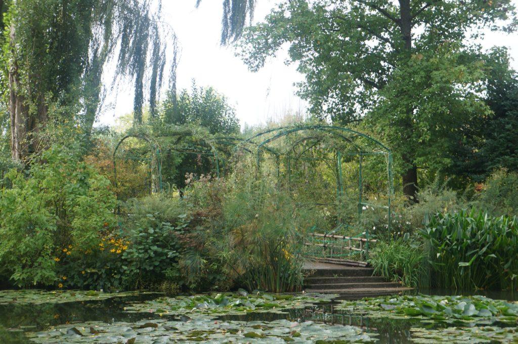莫內花園 蓮花池畔 睡蓮池