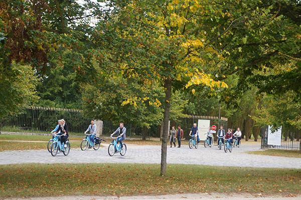 凡爾賽宮腳踏車租借
