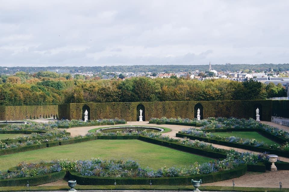 美麗的凡爾賽宮花園!
