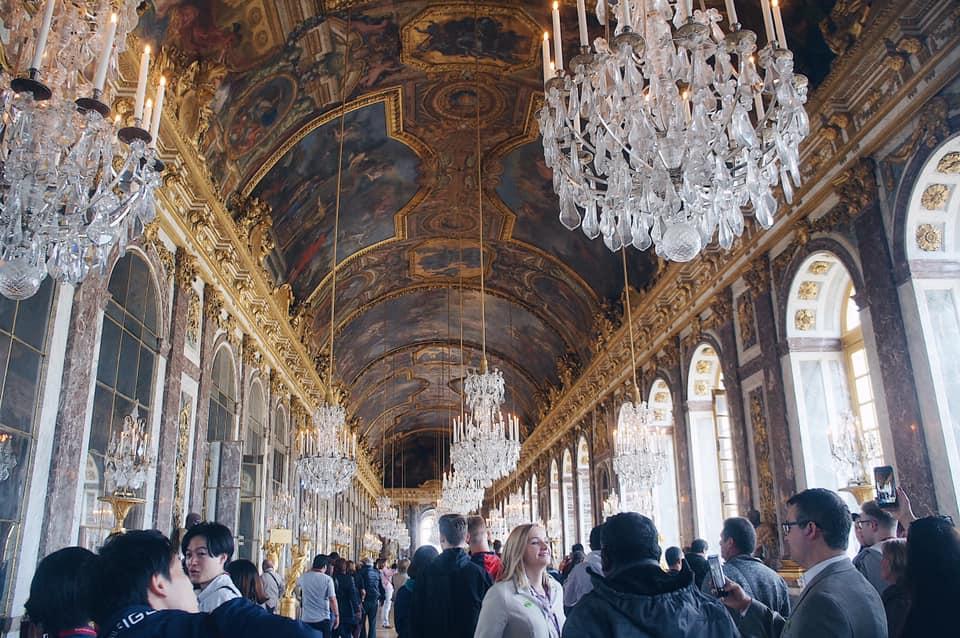 凡爾賽宮 鏡廳