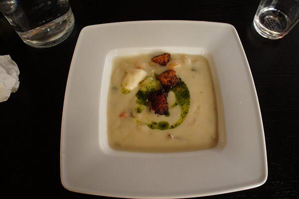 卑爾根ANNA餐廳魚湯