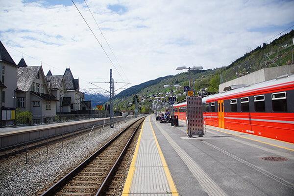 voss火車站