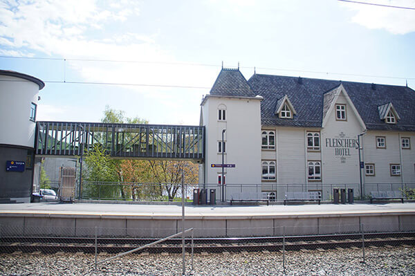 挪威縮影voss火車站