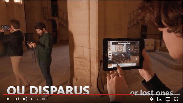 巴黎古監獄立體實境遊戲