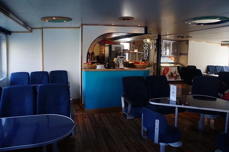 挪威縮影峽灣郵輪經典船,船艙餐廳