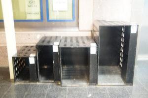 挪威自助置物櫃模型