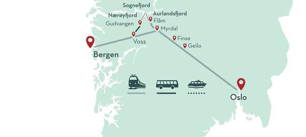 挪威縮影地圖