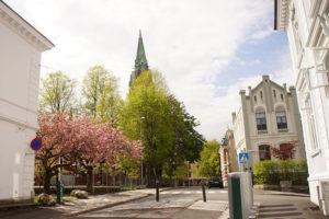 美麗的卑爾根街景