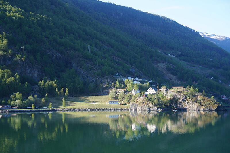挪威縮影柔伊峽灣風景