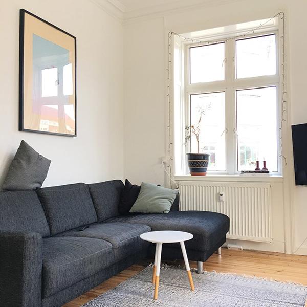 我們哥本哈根的家,好像住進IKEA樣品屋一樣,賞心悅目!