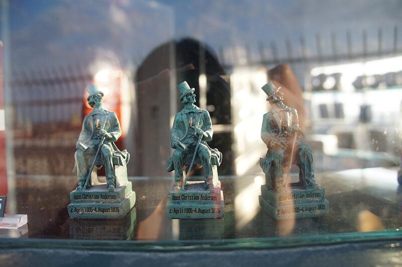 哥本哈根 安徒生小雕像