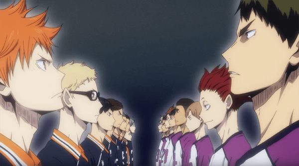 排球少年,與強者正面對決。
