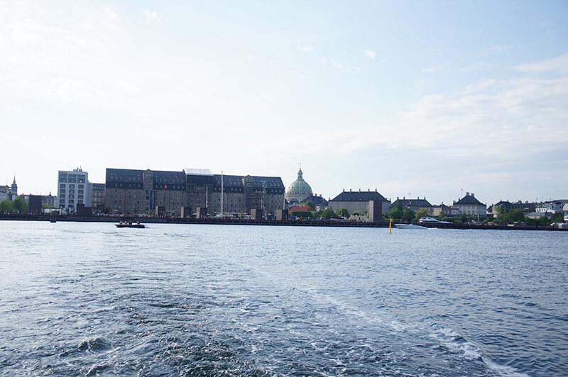 哥本哈根運河遊船,出海了!