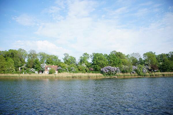 運河遊船之旅,鄉村風光,克里斯欽自由城沿岸。