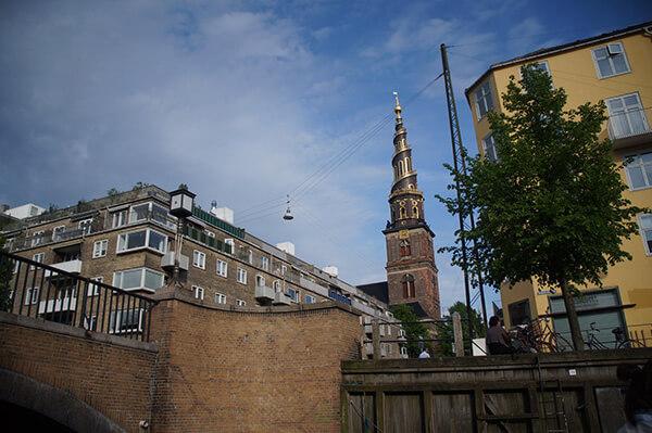 圖:Christiania 島水道與救主堂
