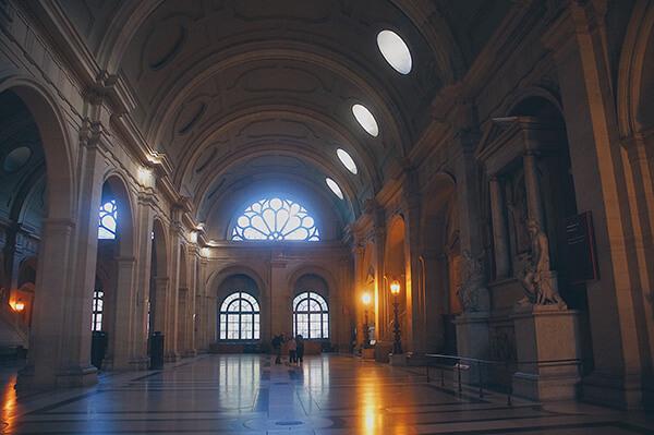巴黎司法宮內部大廳