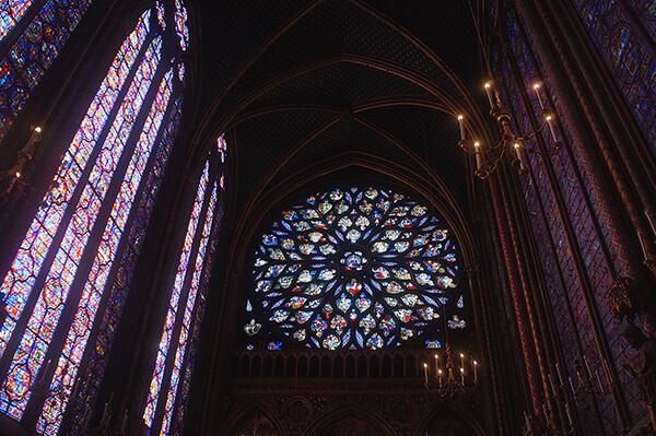 聖禮拜堂玫瑰窗
