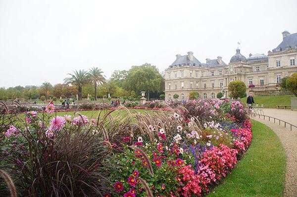盧森堡與花園
