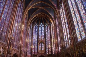 巴黎很美的聖徒禮拜堂