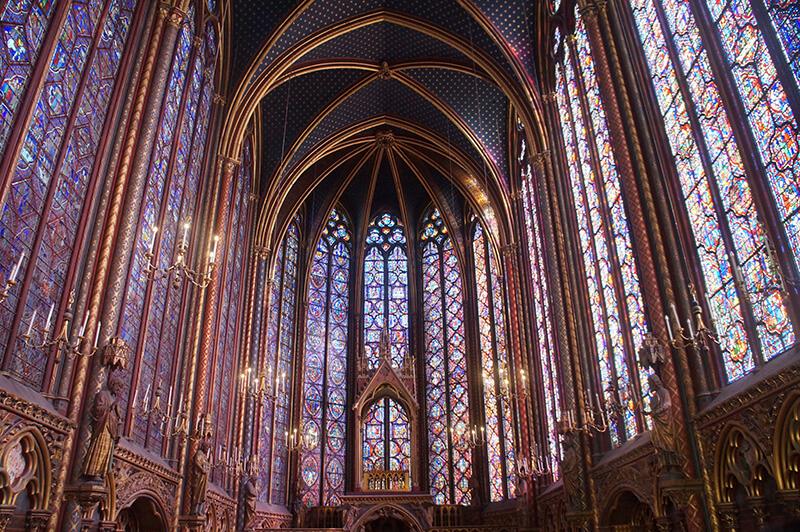 巴黎聖禮拜堂,La Sainte-Chapelle,世界最美玻璃彩繪窗,聖徒禮拜堂攻略