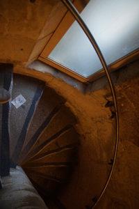 聖禮拜堂的狹窄樓梯