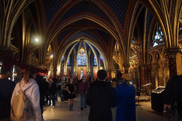 聖禮拜堂的金藍色穹頂