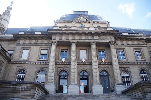 巴黎司法宮,14世紀的法國王宮,西岱宮正門口。