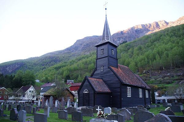 flam,教堂之路的終點。