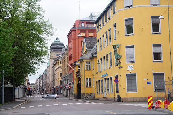 挪威,奧斯陸,街頭