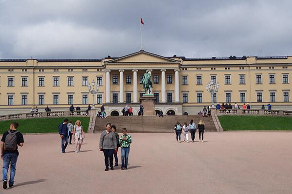 奧斯陸挪威皇宮