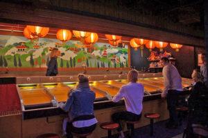 TIVOLI中國園區的滾球賽馬小遊戲
