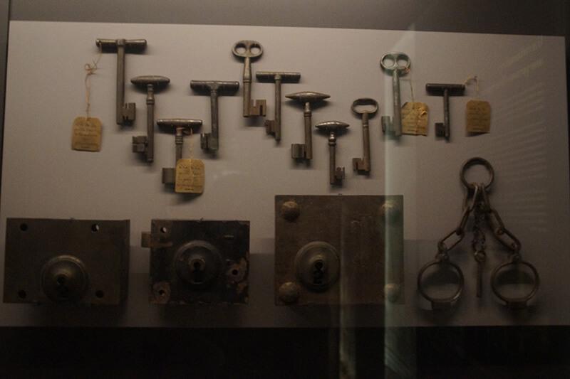 古監獄的古早時期鑰匙