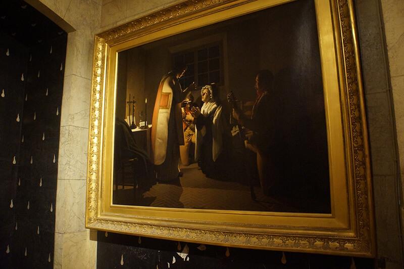 瑪麗安東尼皇后畫像,描述其在巴黎古監獄的生活