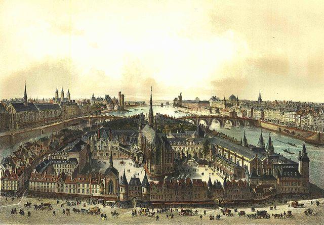 1650年的巴黎司法宮,西岱宮,沒做功課一定會錯過的巴黎景點在這邊!