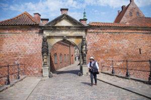 腓特列堡前方拱門