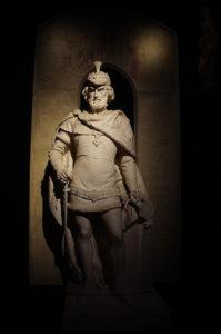 腓特烈堡栩栩如生的雕塑