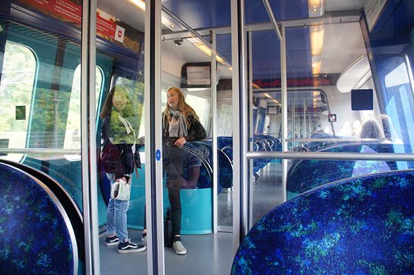 開往腓特列堡的火車